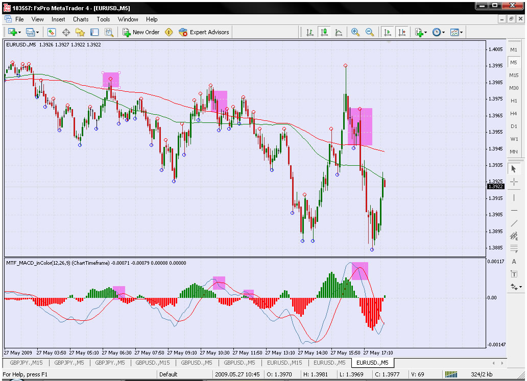 Forex daily macd strategy